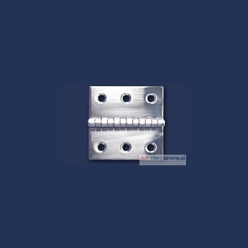 zawias Art 8049E A2 nierdzewny 60x60x1,5