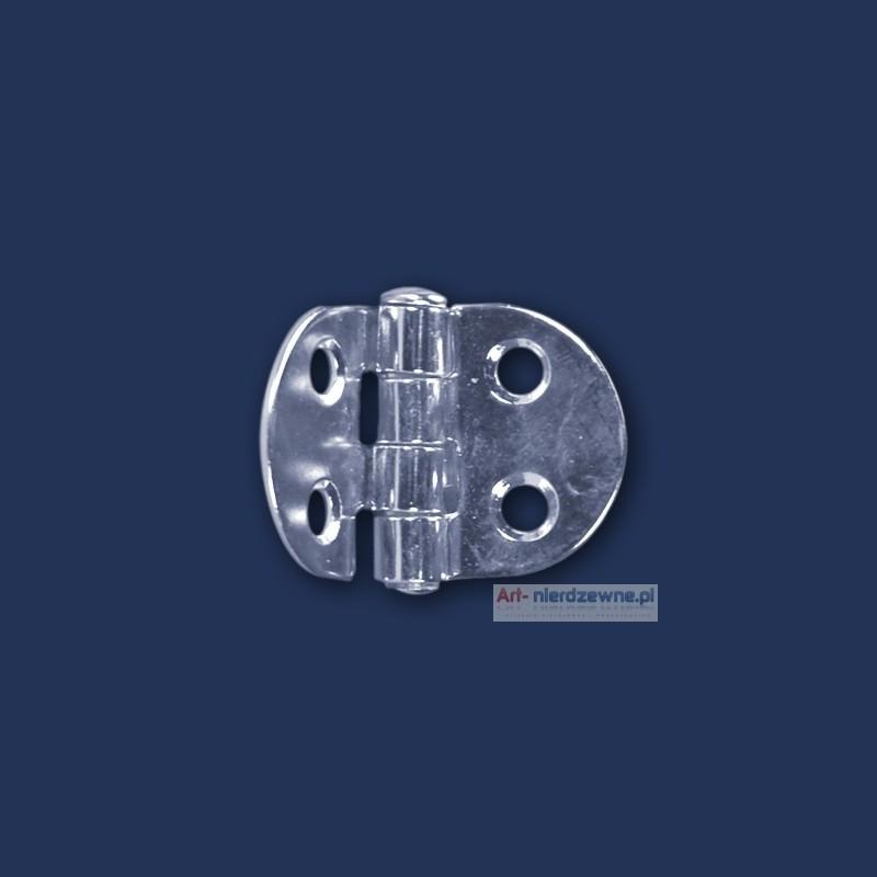 zawias Art 8045A A2 nierdzewny 47x30x1,5