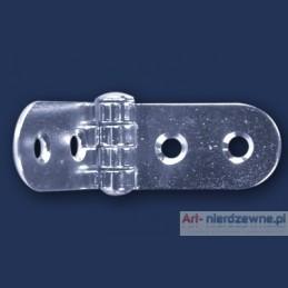 zawias Art 8046A A2 nierdzewny 75x20x1,5