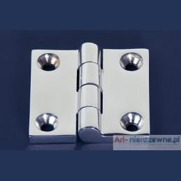 zawias Art 8233B A4 kwasoodporny 50x50x4