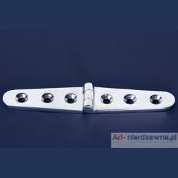 zawias Art 8235B A4 kwasoodporny 152x30x4,5