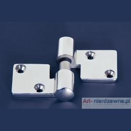 zawias Art 8239 lewy A4 kwasoodporny 92x36x5