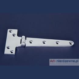 zawias Art 8281 prawy A4 kwasoodporny 195x98x5