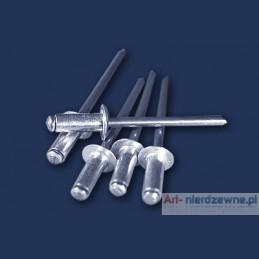 nit zrywalny 3,2x6 DIN 7337 ALU/A2 aluminiowo nierdzewny