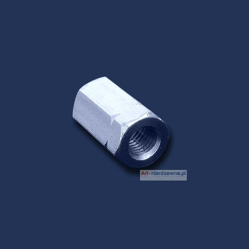 nakrętka M5 DIN 6334 A2 długa 3d nierdzewna