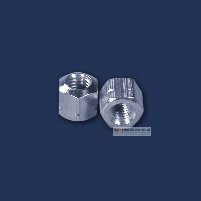 nakrętka M6 DIN 6330 A2 długa 1,5d nierdzewna