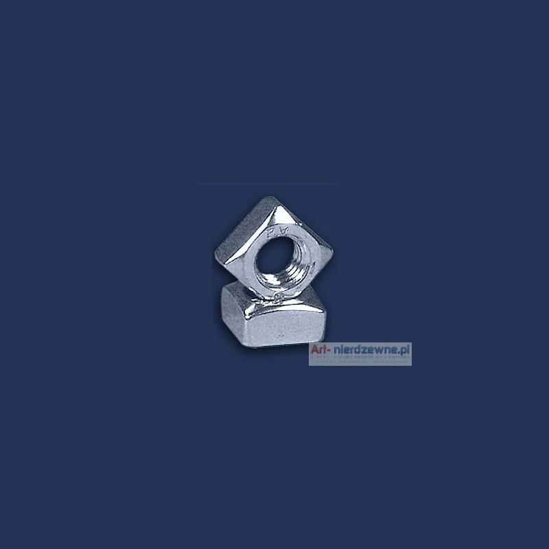 nakrętka M5 DIN 557 A2 kwadratowa nierdzewna