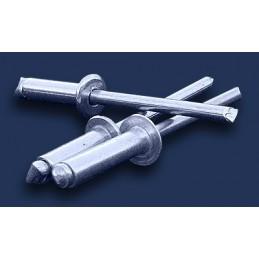 nit zrywalny 3,2x6 DIN 7337 ALU/ALU aluminiowy