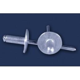 nit zrywalny 3,2x10 k.10 DIN 7337 ALU/STAL aluminiowo stalowy, szeroki kołnierz