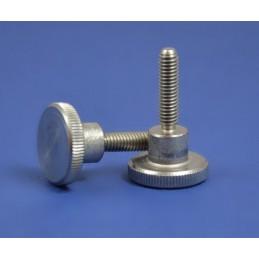 śruba M4x8 DIN 464 A1 radełkowana nierdzewna