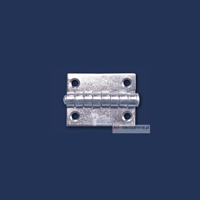 zawias Art 8049A A2 nierdzewny 40x30x1,5